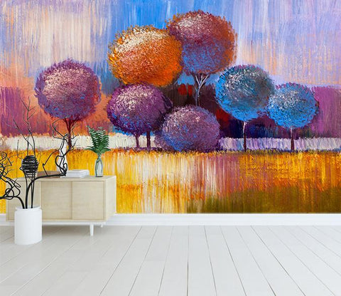 3D Abstract Oil Painting 368 Wall Murals Wallpaper AJ Wallpaper 2