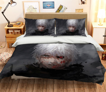 3D Tokyo Ghoul 046 Anime Bed Pillowcases Quilt