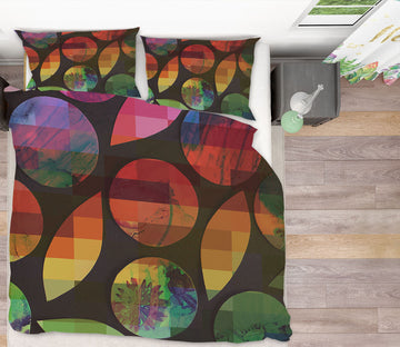 3D Colored Geometric Pattern 2006 Shandra Smith Bedding Bed Pillowcases Quilt