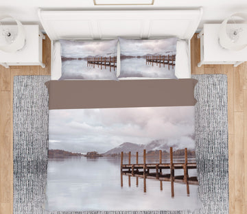 3D Dock Lake 1065 Assaf Frank Bedding Bed Pillowcases Quilt