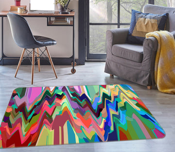 3D Colored Trees 71026 Shandra Smith Rug Non Slip Rug Mat