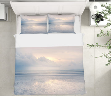 3D Sunny Sea Level 1097 Assaf Frank Bedding Bed Pillowcases Quilt