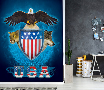 3D USA Trinity 1567 Wall Murals Exclusive Designer Vincent