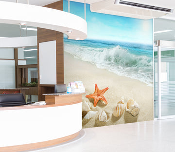 3D Surf Starfish 300 Wall Murals