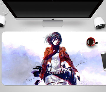 3D Attack On Titan 366 Anime Desk Mat Mat AJ Creativity Home