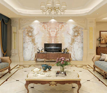 3D Marble Pattern WC08 Wall Murals