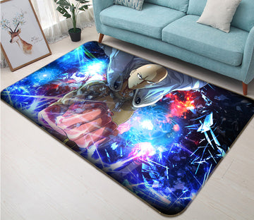 3D One Punch Man 7881 Anime Non Slip Rug Mat
