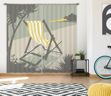 3D Marazion Deckchair 121 Steve Read Curtain Curtains Drapes