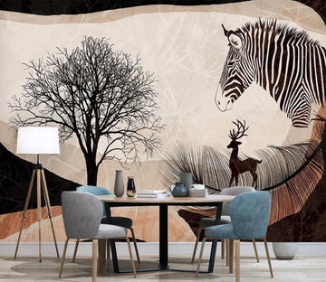 3D Everything About Black Loneliness 2580 Wall Murals