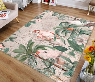 3D Animal Family 1041 Andrea haase Rug Non Slip Rug Mat Mat AJ Creativity Home