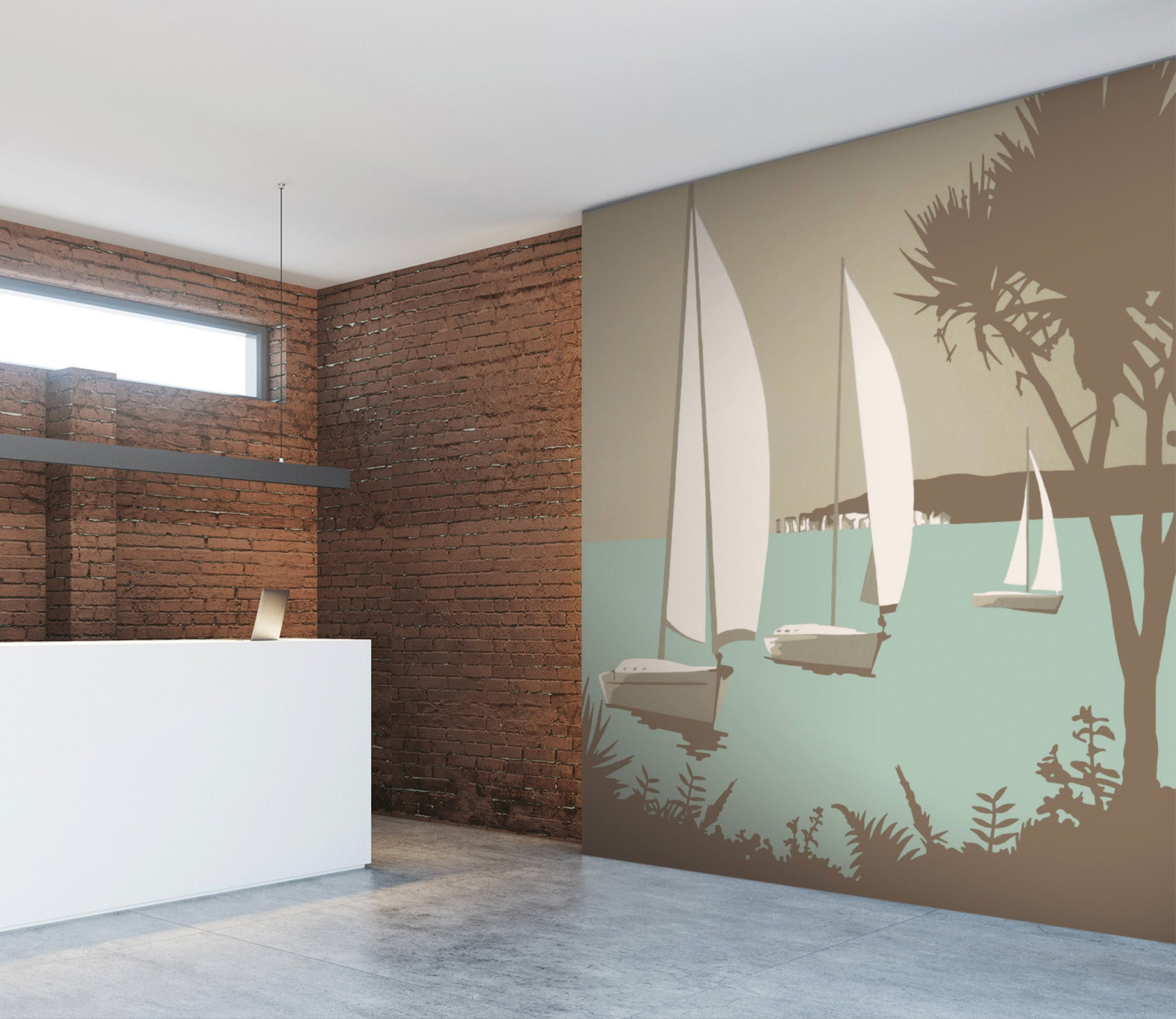 3D Poole The Purbecks 1041 Steve Read Wall Mural Wall Murals