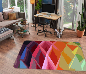 3D Color Pineapple 71014 Shandra Smith Rug Non Slip Rug Mat