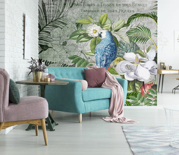 3D Kingdom Of Birds 1426 Andrea haase Wall Mural Wall Murals