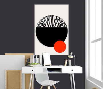 3D Abstract Earth 109 Boris Draschoff Wall Sticker