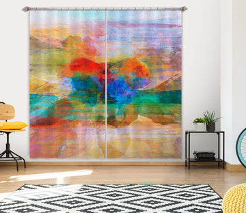 3D Strong Color 240 Michael Tienhaara Curtain Curtains Drapes