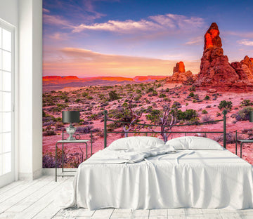 3D Red Stones 1423 Marco Carmassi Wall Mural Wall Murals