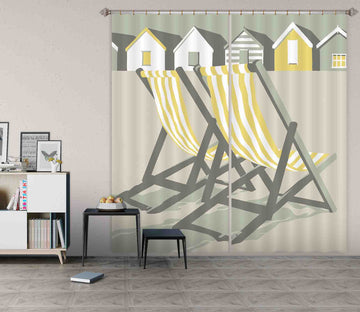 3D Southwold Deckchairs 150 Steve Read Curtain Curtains Drapes