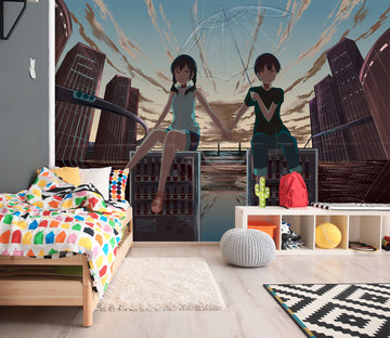3D Weathering With You 35 Anime Wall Murals
