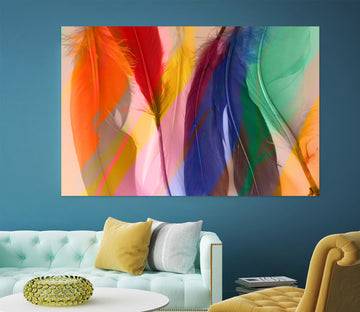 3D Colored Feathers 71113 Shandra Smith Wall Sticker