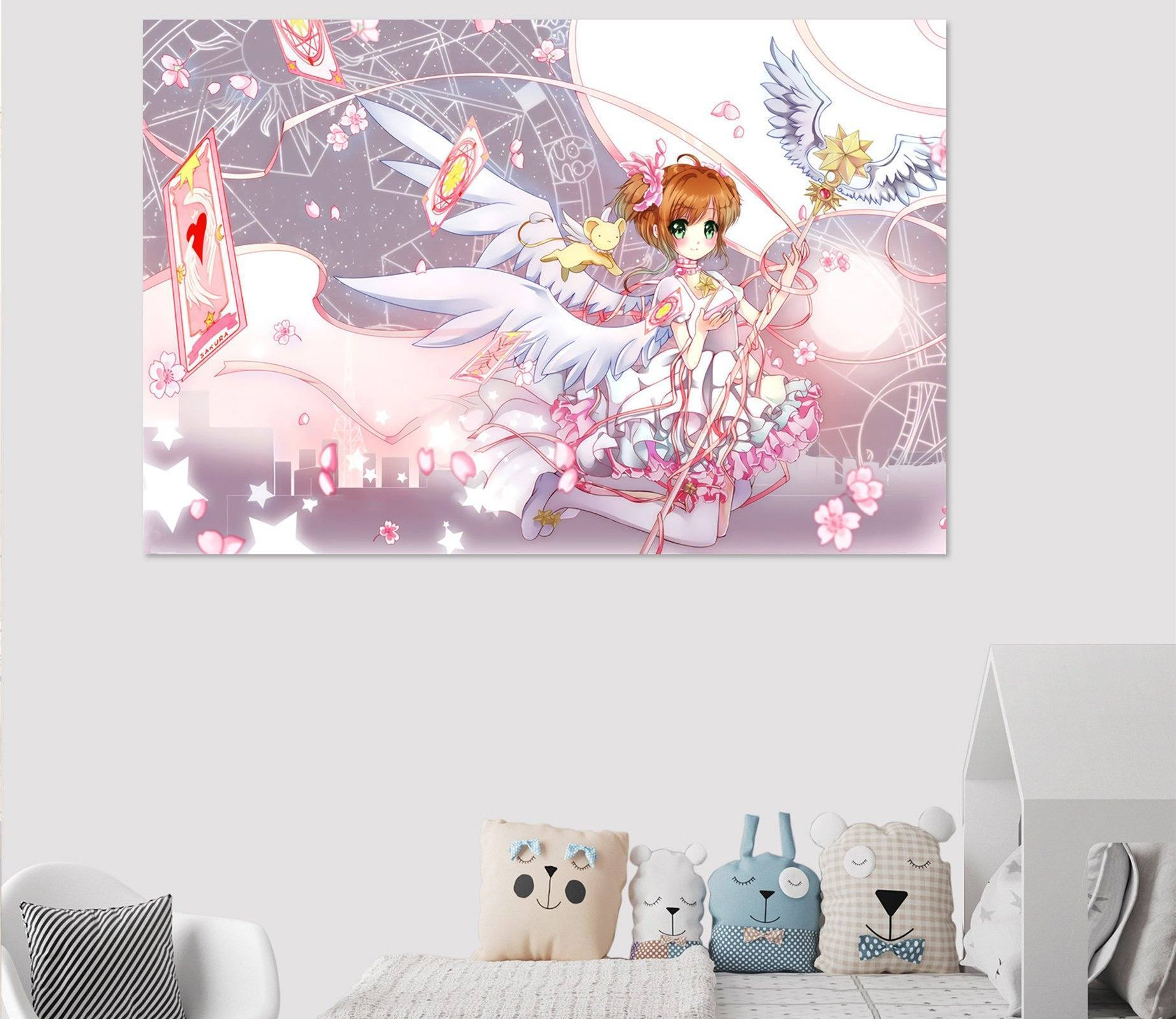 3D Cardcaptor Sakura 834 Anime Wall Stickers Wallpaper AJ Wallpaper 2