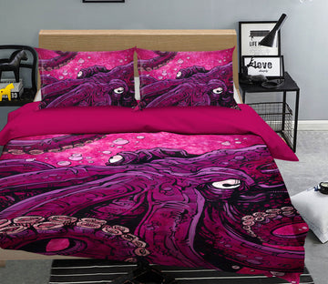 3D Marine Octopus 114 David Lozeau Bedding Bed Pillowcases Quilt