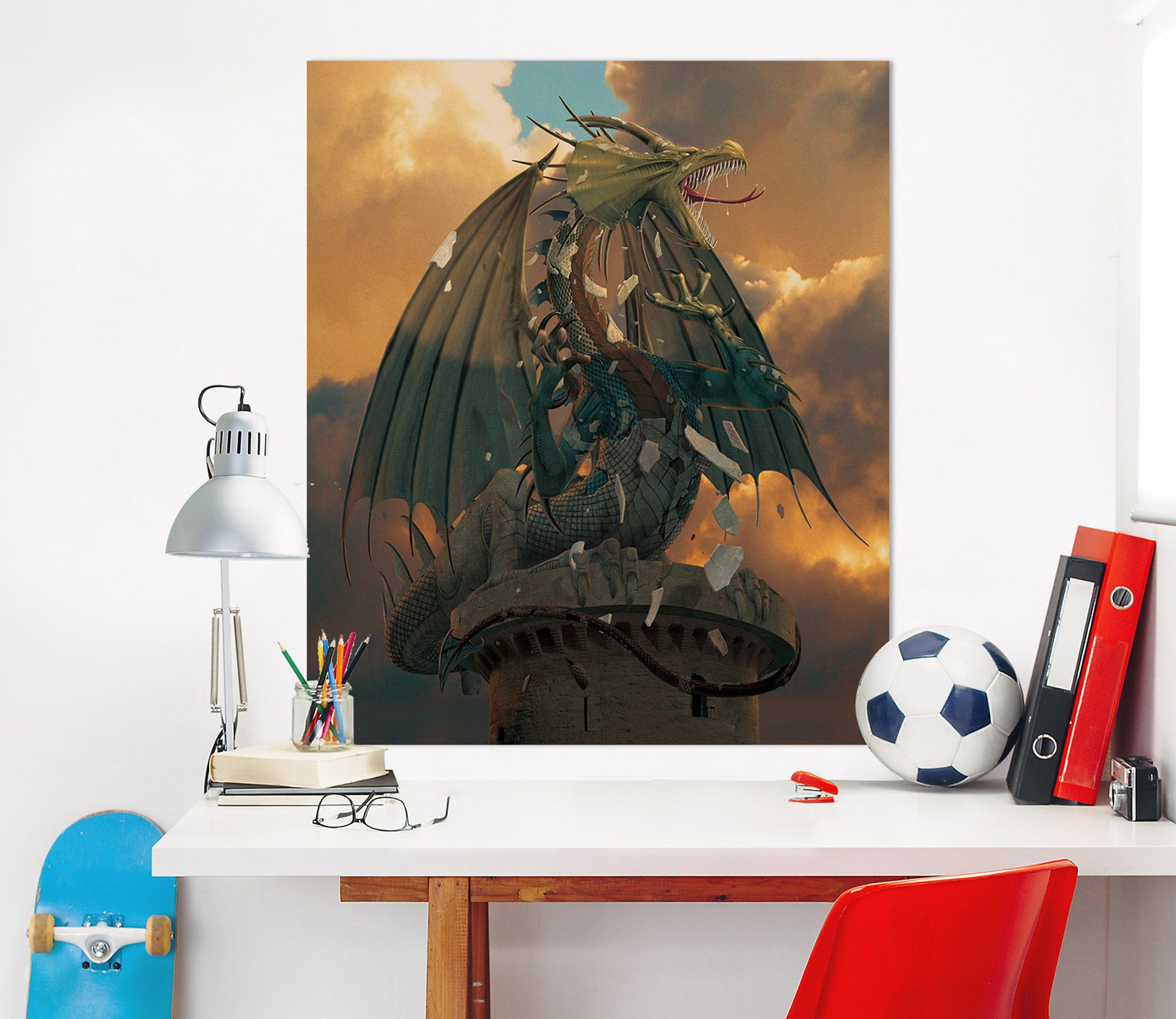 3D The Awakening 078 Vincent Hie Wall Sticker