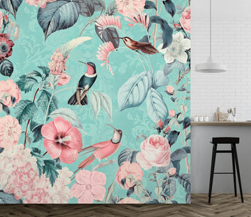 3D Bird Home 1444 Andrea haase Wall Mural Wall Murals Wallpaper AJ Wallpaper