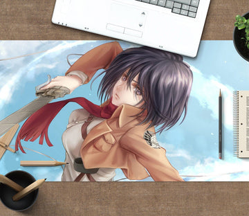 3D Attack On Titan 363 Anime Desk Mat Mat AJ Creativity Home