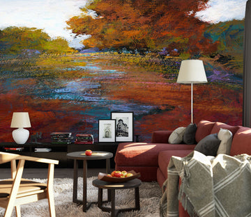 3D Red Maple Leaf 1540 Michael Tienhaara Wall Mural Wall Murals