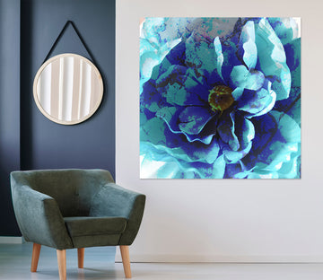 3D Blue Flower 71118 Shandra Smith Wall Sticker