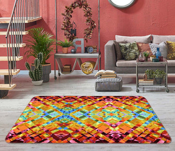 3D Colorful Pattern 1002 Shandra Smith Rug Non Slip Rug Mat