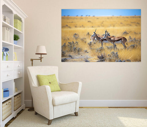 3D African Antelope 115 Animal Wall Stickers Wallpaper AJ Wallpaper 2
