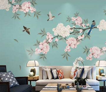 3D Fallen Leaves WC820 Wall Murals