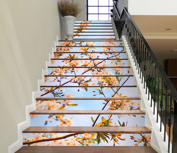 3D Pretty Flowers In Spring 634 Stair Risers