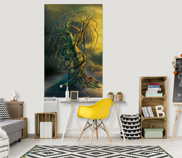 3D Tree Dragon 085 Vincent Hie Wall Sticker