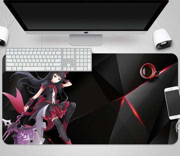 3D Anime Female Warrior 5787 Desk Mat Mat AJ Creativity Home