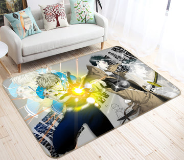 3D One Punch Man 7863 Anime Non Slip Rug Mat
