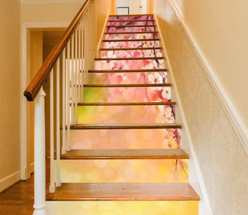 3D Flowers 435 Stair Risers Wallpaper AJ Wallpaper