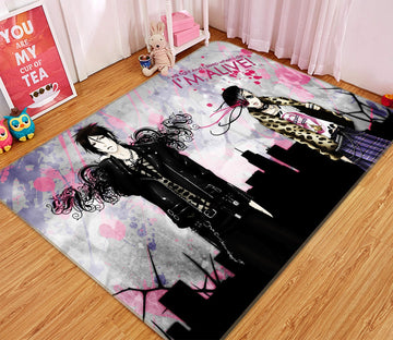 3D Black Butler 394 Anime Non Slip Rug Mat Mat AJ Creativity Home