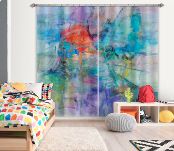 3D Color Splash 208 Michael Tienhaara Curtain Curtains Drapes