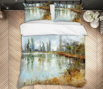 3D Country Road 2012 Anne Farrall Doyle Bedding Bed Pillowcases Quilt