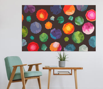 3D Colored Ball 001 Shandra Smith Wall Sticker