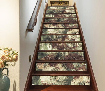 3D Oil Painting 7429 Stair Risers
