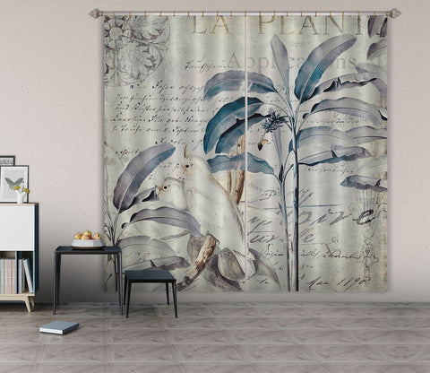 3D White Bird 071 Andrea haase Curtain Curtains Drapes