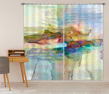 3D Color Collision 238 Michael Tienhaara Curtain Curtains Drapes