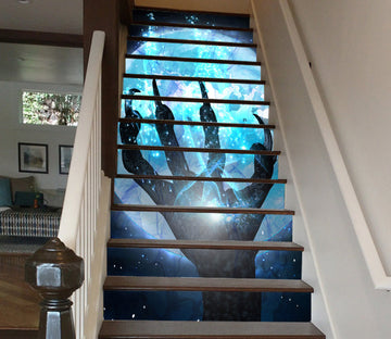3D Ghost Hand Of Moonlight 645 Stair Risers