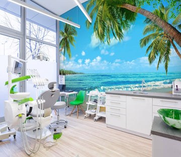 3D Tropical Paradise 07 Wall Murals