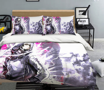 3D Tokyo Ghoul 047 Anime Bed Pillowcases Quilt