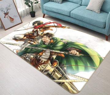 3D The Giant Attack 2481 Anime Non Slip Rug Mat Mat AJ Creativity Home