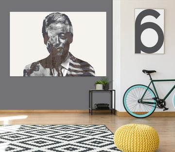 3D Billclinton 001 Marco Cavazzana Wall Sticker Wallpaper AJ Wallpaper 2